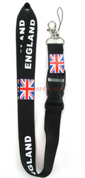China 10pcs New about Design patterns on British and American flags Lanyard Keychain Key Chain ID Badge ipod cell phone holder lanyard Neck band suppliers
