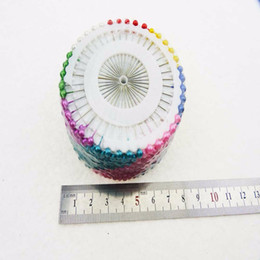 bead needles 2019 - patchwork needle 480pcs Knitted tools multicolour drop pins jospin pearl fitted bead needle patchwork tools Needlework K