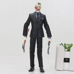 "Chinese  Toys Hobbies Action Toy Figures Super Hero Batman The Joker Jack Napier Arkham Asylum PVC Action Figure Collection Model Toy 6"" 14cm manufacturers"