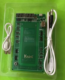 Iphone 4s battery new online shopping - 2017 New Kaisi K Professional Battery Activation Charge Board Micro USB Cable K9201 for iPhone G plus s s plus s s