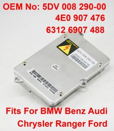 benz headlights UK - 1PCS 35W OEM HID Xenon Headlight Ballast Control Un Parts 4E0907476 63126907488 0028202326 5DV00829000 For BMW Benz Audi Chrysler Ford Range
