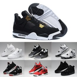 $enCountryForm.capitalKeyWord Canada - High Quality Man Sneakers 4s Basketball Shoes 4 Authentic IV Boots White Cement Fire Red Bred Bulls Women Sport Shoes Free Shipping