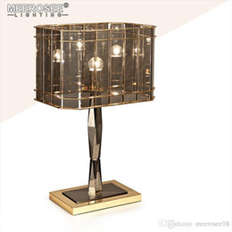 Iron Table Lamps For Living Room NZ - Vintage Lustres Table Light Desk Light for Reading Living Room Abajur Table Lamp Luminaires Lighting Home Decoration
