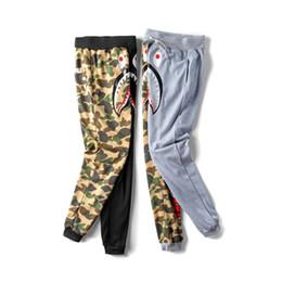 $enCountryForm.capitalKeyWord Canada - 2018 New Teenager Black Gray Camo Printing Pants Men's Thin Casual Pants Lover Cotton Terry Cloth Pants