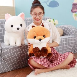 $enCountryForm.capitalKeyWord NZ - 1PC 40CM Soft Cute Long tail Fox Plush Toy Stuffed Kids Doll Fashion Kawaii Gift for Children Birthday Gift Home Shop Decor
