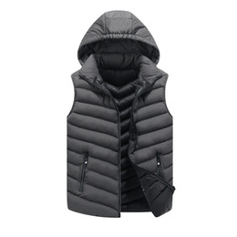 $enCountryForm.capitalKeyWord Canada - 2018 New Men Jackets Sleeveless Vests Large Size L-4XL Winter Thick Warm Man Casual Fashion Vest & Waistcoat Cotton Padded
