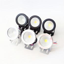 LED Sualtı Işık LED 10W AC 110v 220v DC 12V Akvaryum Süs Havuzu Lamba ışığı IP68 Su geçirmez Yıkama Spot ışık Sıcak / beyaz ışıklar soğutmak