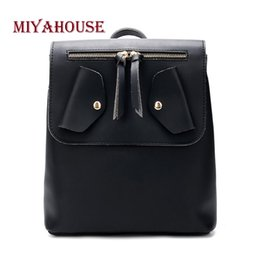 cbc9241886a3 wholesale High Quality Vintage Backpack For Women PU Leather Candy Color  Rucksack For Female Sweet Style Backpack For Women