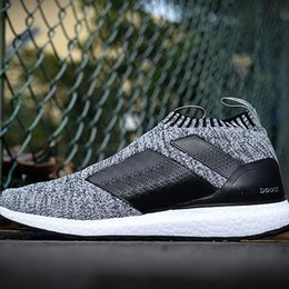 e6e9155786bab High quality Ace 16+ Ultra Boost PureControl Men Shoes Black White Sneakers  Solar Yellow Fashion Primeknit Casual Shoes 36-45 Online Sale