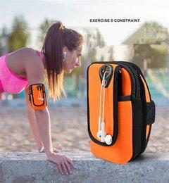 Universal Arm Pouch Jogging Taschen Armband Wasserdichte Sport Lauf Tasche Workout Armbinden Halter Für Samsung Handy