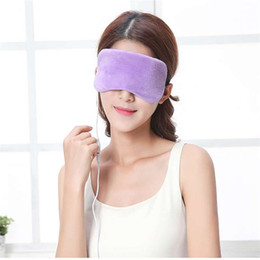 electric eye mask Australia - USB heating steam eye cover protection instrument electric hot compress steam mask eye massage instrument to relieve black eye