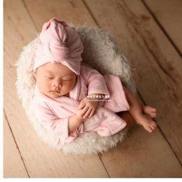 Douce Flanelle peignoirs Wrap bébé photographie props infantile serviette de bain nouveau