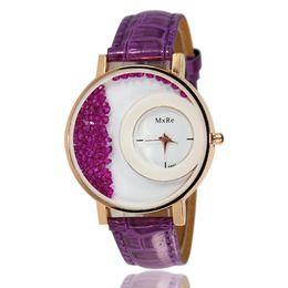 $enCountryForm.capitalKeyWord UK - Stylish Women Lady Quartz Watch Leather Strap Band Wrist Watch Fashion Fashionable Popular Nice Sweety Gift Reloj
