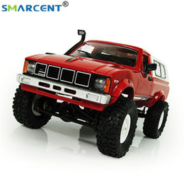 Wholesale WPL C24 Smart Remote Control Car RC Crawler Off road Car Buggy RTR G Battery Powered Toys For Children