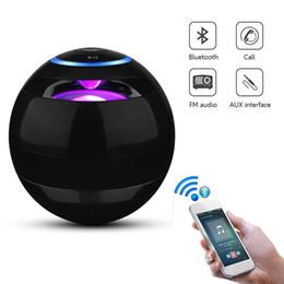 $enCountryForm.capitalKeyWord Australia - 2019 Version LED Light Speaker Portable Bluetooth wireless speaker Mini Subwoofer fashion Design for Smartphone U304
