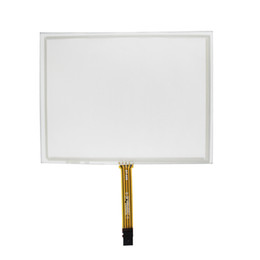 1.8 Inch Screen NZ - New Compatible 8 inches (183mm*141mm) Touch Screen for EJ080NA-5A AT080TN52 V.1 Industrial Grade Handwriting Screen