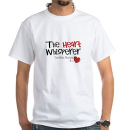 Nurses t shirts online shopping - Trendy Solid Color Seven Sleeves T Shirt Cardiac Nurse White T Shirt Cotton T Shirt White Short Design Shirts