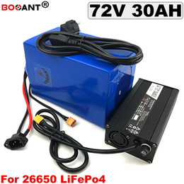 72v charger Australia - 72V 30AH LiFePo4 Lithium Battery 72V Electric bike LiFePo4 Battery 3.2V 23S 72V for Bafang 1500W Motor +5A Charger Free Shipping