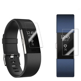 Vente en gros Protecteur d'écran en PET souple Pour charge de surtension Fitbit Blaze 2 charge 3 alta ionique et inversement Dans le paquet de vente au détail 300pcs / lot