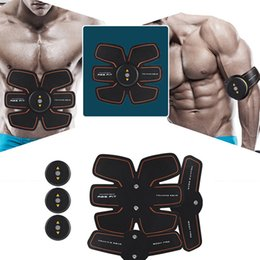 $enCountryForm.capitalKeyWord Australia - New Smart EMS Stimulator Training Fitness Gear Muscle Abdominal Exerciser Toning Belt Battery Abs Fit Muscles Intensive Training