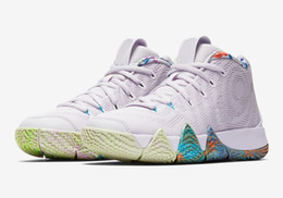 Buy cheap online shopping - Buy Kyrie IV kids s Decades Pack cheap sales best Quality Irving Basketball shoes store US4 US12
