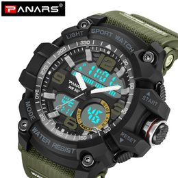 $enCountryForm.capitalKeyWord Australia - PANARS Men Watches 2018 Luxury Top Brand Mens Sport Fitness Digital Waterproof G Style Wristwatch Fitness Relay Watches