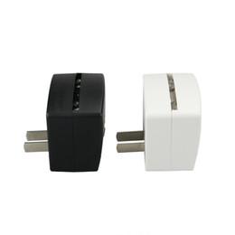 Vente en gros Mini RGB LED Base de la lampe Intégré Capteur de lumière US Plug Mâle US Socket 7 RVB Lumières pour Acrylique