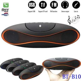 China Bluetooth Mini Card NZ - Rugby Football Bluetooth Speakers with FM Radio | TF Card | Micro USB , outdoor portable bluetooth speaker