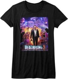 $enCountryForm.capitalKeyWord UK - Dead Rising 2 Capcom X Box 360 Video Game Purple Action Womans Fitted T Shirt Short Sleeve Cotton Women