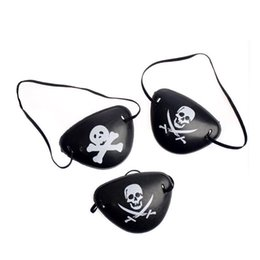 $enCountryForm.capitalKeyWord UK - Christmas Halloween Costume Kids Toy Pirate Eye Patch Mask Blindage Eyeshade Fancy Costume 2 Patterns Pirate One-eye Patch