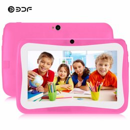 $enCountryForm.capitalKeyWord NZ - BDF 7 Inch BabyPAD Tablets Pc Children Kids Learning EDU Tablet Pc Android 4.4 Quad Core 512M+8GB WiFi Best gifts for Children