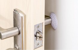 $enCountryForm.capitalKeyWord NZ - New Wall Thickening Mute Door Fenders Golf Modelling Rubber Fender The Handle Door Lock Protective Pad Protection Wall Stick
