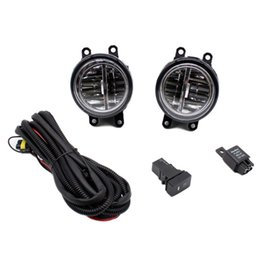 $enCountryForm.capitalKeyWord NZ - For Lexus HS250h 2010-2012 H11 Wiring Harness Sockets Wire Connector Switch + 2 Fog Lights DRL Front Bumper LED Lamp