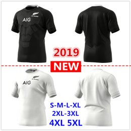 2019 New Zealand All Blacks home away Rugby Jerseys Super Rugby shirt All  Blacks jersey Size S-5xL af04ecf29