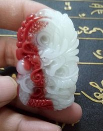 Pendant Jade Australia - Jade twin dragon pendant delivered free of charge in hetian, xinjiang, China A6