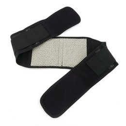 Discount band belts - 2016 New Adjustable Pad Tourmaline Magnetic Belt self-heating Lumbar Support Brace Double Banded