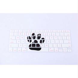 $enCountryForm.capitalKeyWord Australia - Animal Footprint Pattern Silicone Keyboard Cover Skin Protector for All  Macbook Pro Air Retina 13