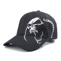 $enCountryForm.capitalKeyWord Canada - High Quality Skull Embroidery Fashion Cap 100% Cotton Baseball Cap Outdoor Hip Hop Dad Hat Sports Hat For Men Women