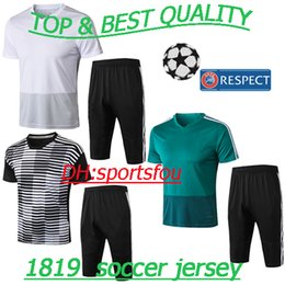 Thai german champion bundesliga 18 19 training suit Müller Soccer jerseys  tracksuit maillots de football shirt football short sleeve uniform d667d00fc