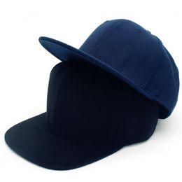 Hip Hop Hats Men Women Baseball Caps Snapback Solid Colors Cotton Bone  European Style Classic Trend 71766c2eeae4
