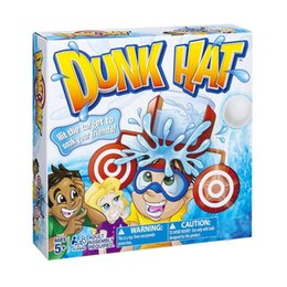 Toy Hats NZ - Wet Head Water Hat Target Game Kids Family Friends Party Funny Prank Challenge Hat Toy Glasses Cap Toys Outdoor Sport Game