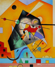 Painting Good NZ - 100% handpainted good quality Wassily Kandinsky famous artist painting reproduction acrylic paint for canvas art canvas living room decorati