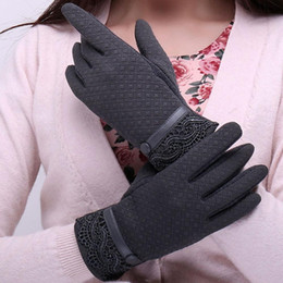 Discount multi screen phone - Full Phone Sporting 2017 Feitong Female Finger Gloves Cashmere Gloves Winter Screen Warm Fashion Touching Elegant Mitten