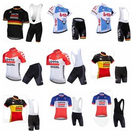 New Jersey Factory Canada - Factory Direct Sales NEW LOTTO Cycling Jerseys Suit Quick Dry Ropa Ciclismo Cycling Clothing Breathable Cycling sportswear F1307