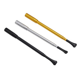 Europe And The United States Selling Retractable Ladies Long Cigarette Rod  Retro Womenu0027s Cigarette Holder Can Be Easily Elongated Thin Pipe