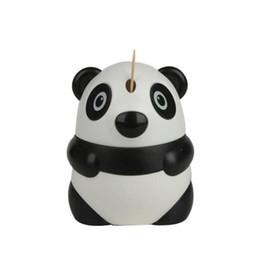 Toothpick Designs UK - Automatic Toothpick Holder Cartoon Panda Design Cute Toothpick Dispenser Restaurant Table Decoration Wholesale Free Shipping ZA6258