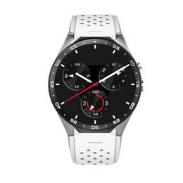 Smartwatch Gps Wifi Camera Australia -  Smart Watch 3G WIFI GPS Bluetooth Android 5.1 Pedometer Heart Rate Monitoring Device Anti-Lost 2.0MP Camera Smartwatch