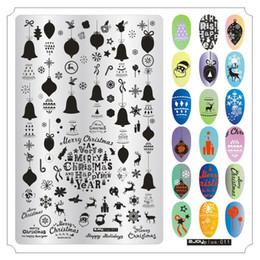 Owl nail art online shopping - 9 cm Nail Art Stamping Plates Christmas Snow Deer Halloween Pumpkin Skull Owl Dream Net Bohemian Manicure Stamp Stencil New