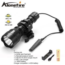 $enCountryForm.capitalKeyWord Australia - AloneFire C8s CREE XM-L2 LED 5 Mode Tactical flashlight High Quality Lanterna LED Torch light hunting Flash light for 1x 18650 battery