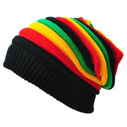 Discount stylish caps for men - New Colorful Women Crochet Knit Cap Winter Skullies Beanies Warm Caps Female Knitted Stylish Hats For Ladies Fashion